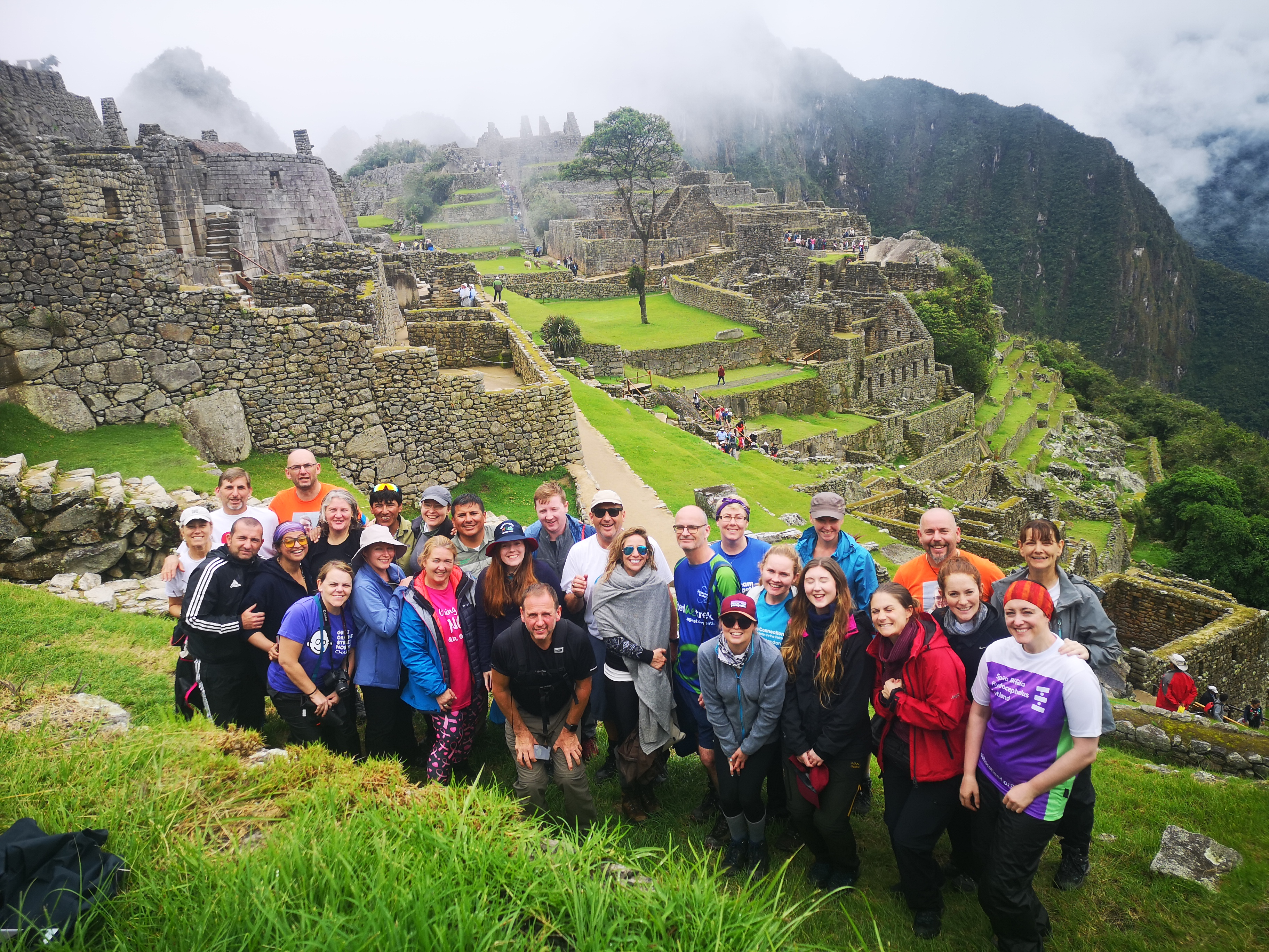 Inca Trail Participants
