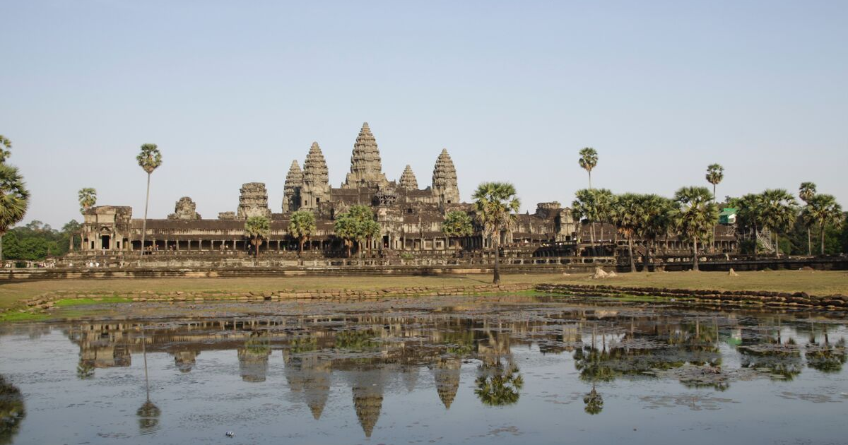 Angor Wat from afar
