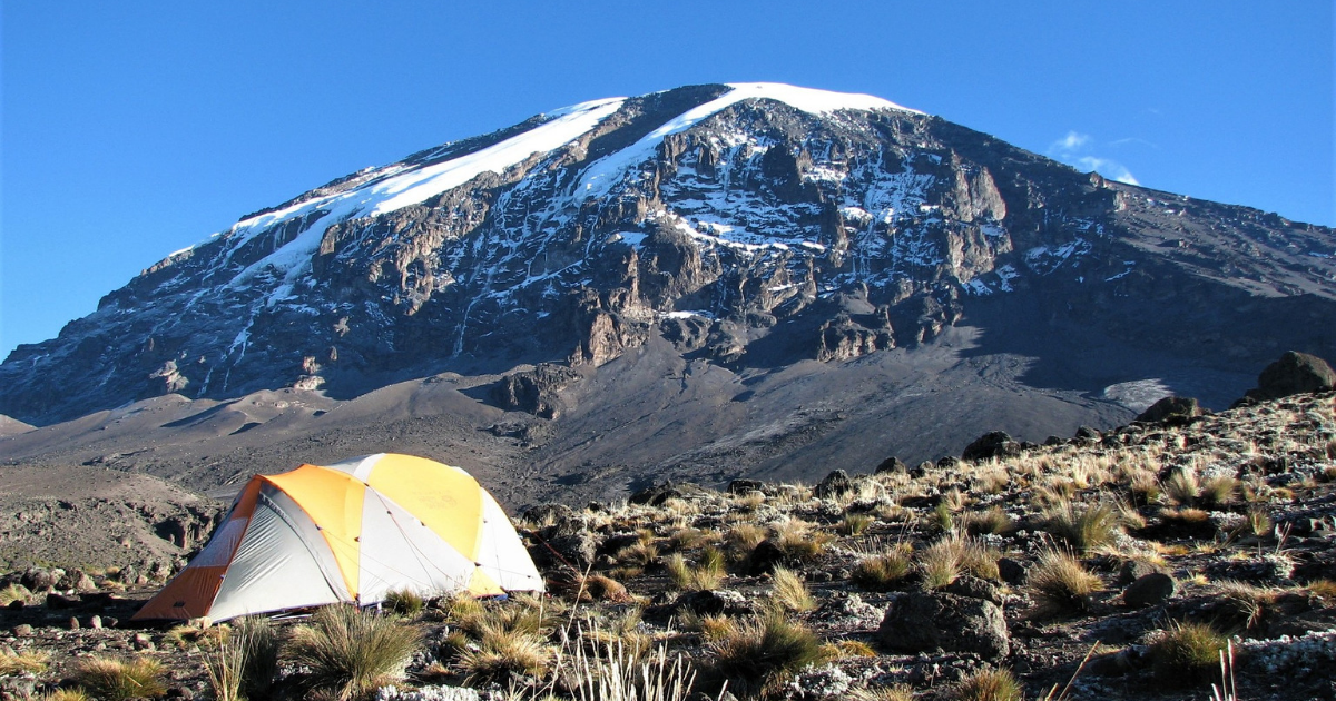 Views of Kilimanjaro during our Kilimanjaro Trek