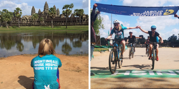 Finishing the Vietnam to Cambodia Challenge
