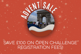 ADVENT SALE! SAVE £100 ON YOUR REGISTRATION FEE!