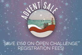 ADVENT SALE! SAVE £150 ON YOUR REGISTRATION FEE!
